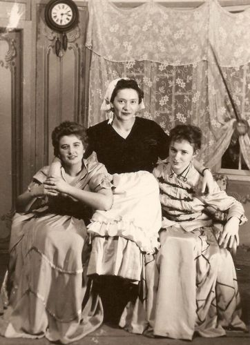 Marína Havranová, divadlo, 1959