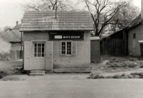 11 predajňa mäsa v roku 1969
