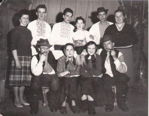 Divadelná hra Div. Statočný valach, 3.1960