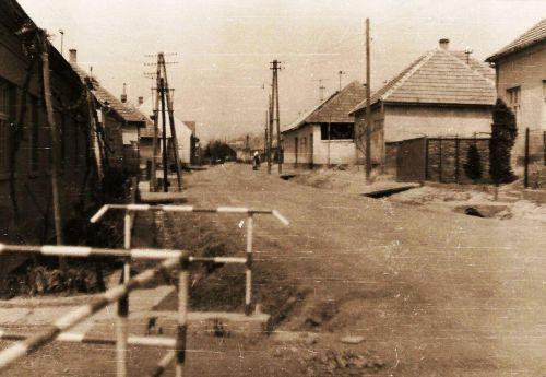 16 - Prícestná ulica - hlavná, 1969