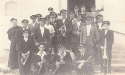 Dychová kapela po roku 1953