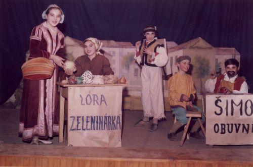 Divadelná hra O dlhonosom kuchárovi a rýchlonohom drotárovi - Rozprávka
