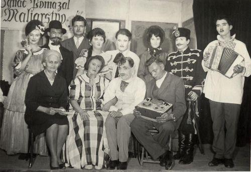 Divadelná hra Starý zaľúbenec, 1964